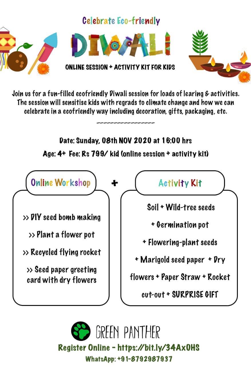 Celebrate Eco-friendly Diwali Workshop