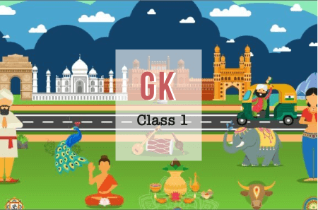 General Knowledge Level 1 (for Class 1 and Class 2)