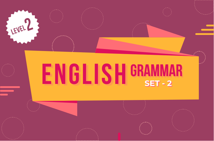 Course Image English Grammar 2 - Set 2