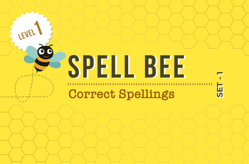 Course Image Correct Spellings - Set 1