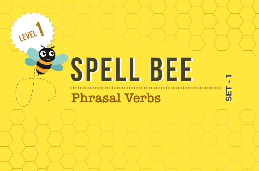 Course Image Phrasal Verbs - Set 1