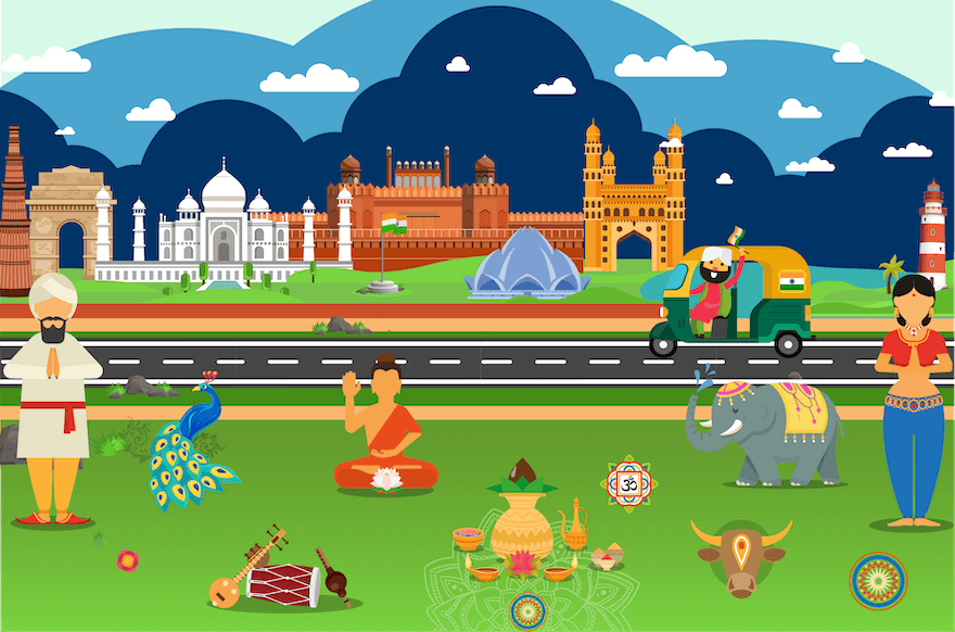 Course Image Discovering India - Level 1