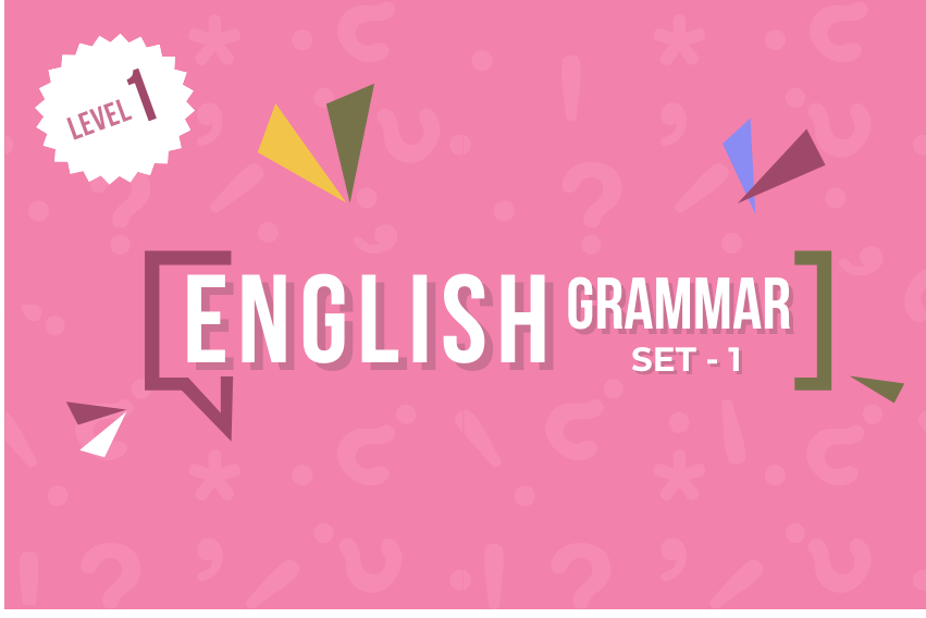 Course Image English Grammar - Set 1