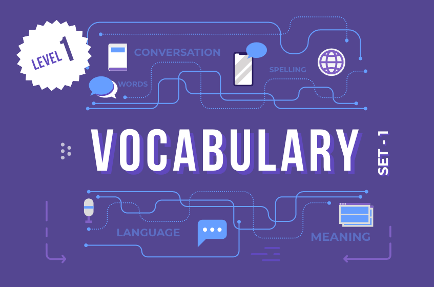 Course Image English Vocabulary Words - Set 1